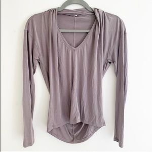 **SOLD** Lululemon Deep Stretch Long Sleeve Top